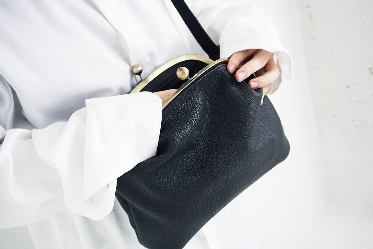 macromauro マクロマウロ ganma mini original goat Leather[black]