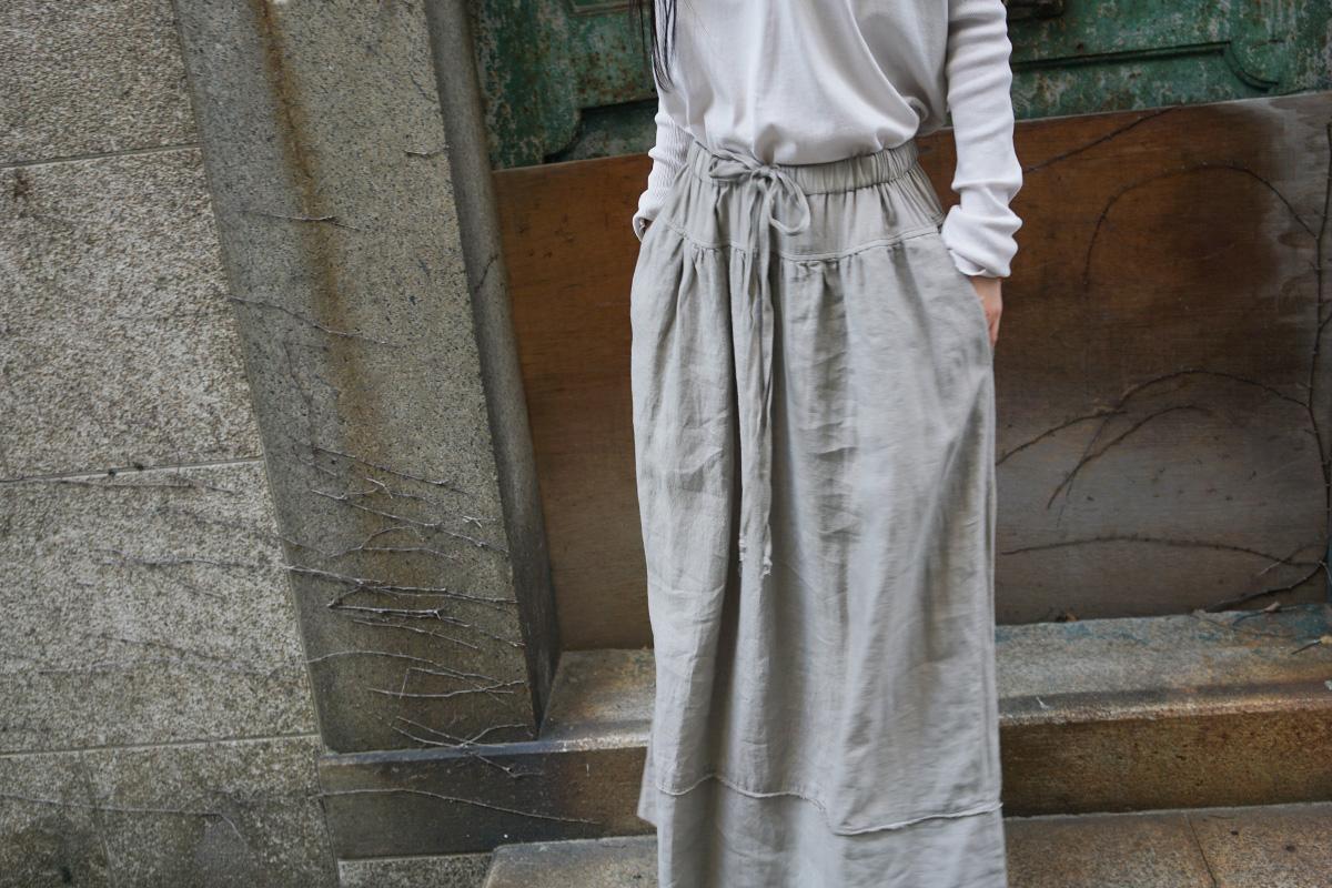 KristenseN DU NORD  クリステンセン ドゥ ノルト SKIRTS [11304/X-125/06 Vintage Khaki]