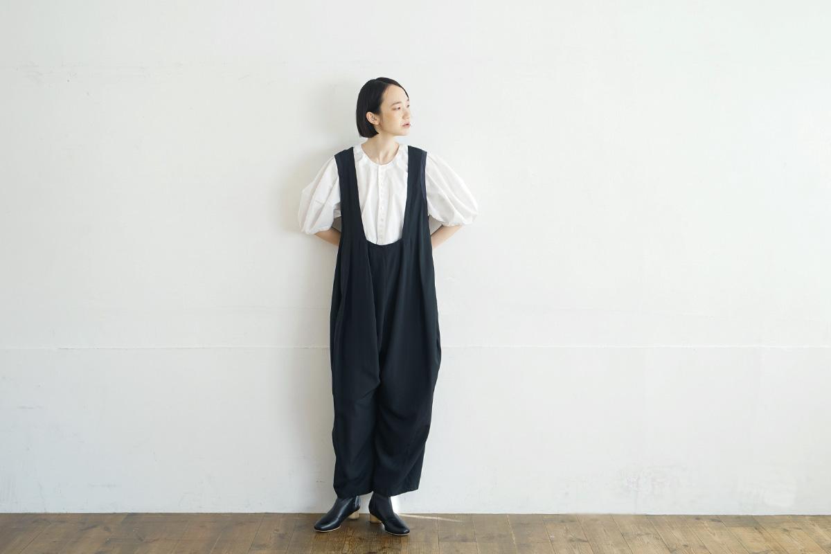 MIYAO ミヤオ SALOPETTE[MUAO-02/BLACK×BLACK]