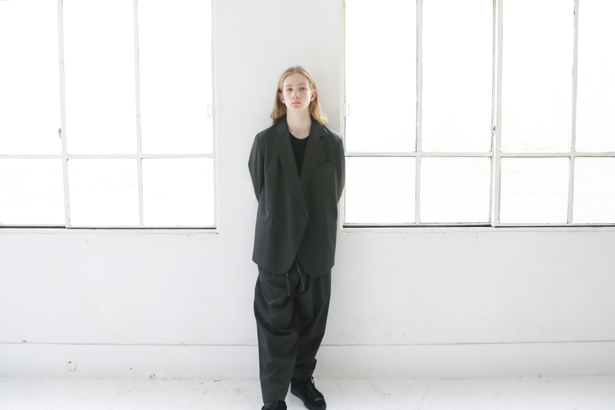 Edwina Hoerl エドウィナホール SAKKO<DOPPELREIHER>[01A/D42J-02/grey]