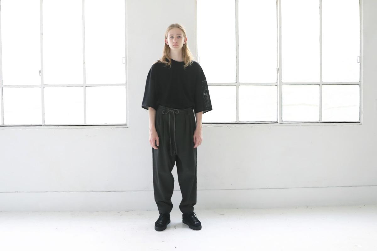 Edwina Hoerl エドウィナホール KAROTTENHOSE<DAUERBRENNER>[01A/D42P-03/grey]
