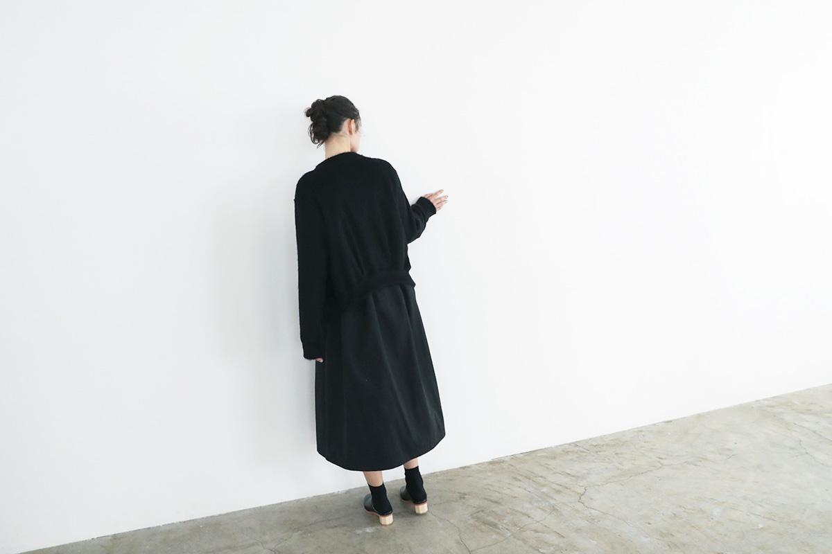 MIYAO ミヤオ CARDIGAN[MVBL-09/1.黒×黒]