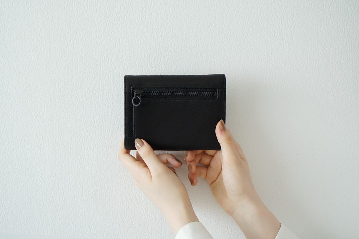 Mochi folded wallet [ma-pro-06/black]
