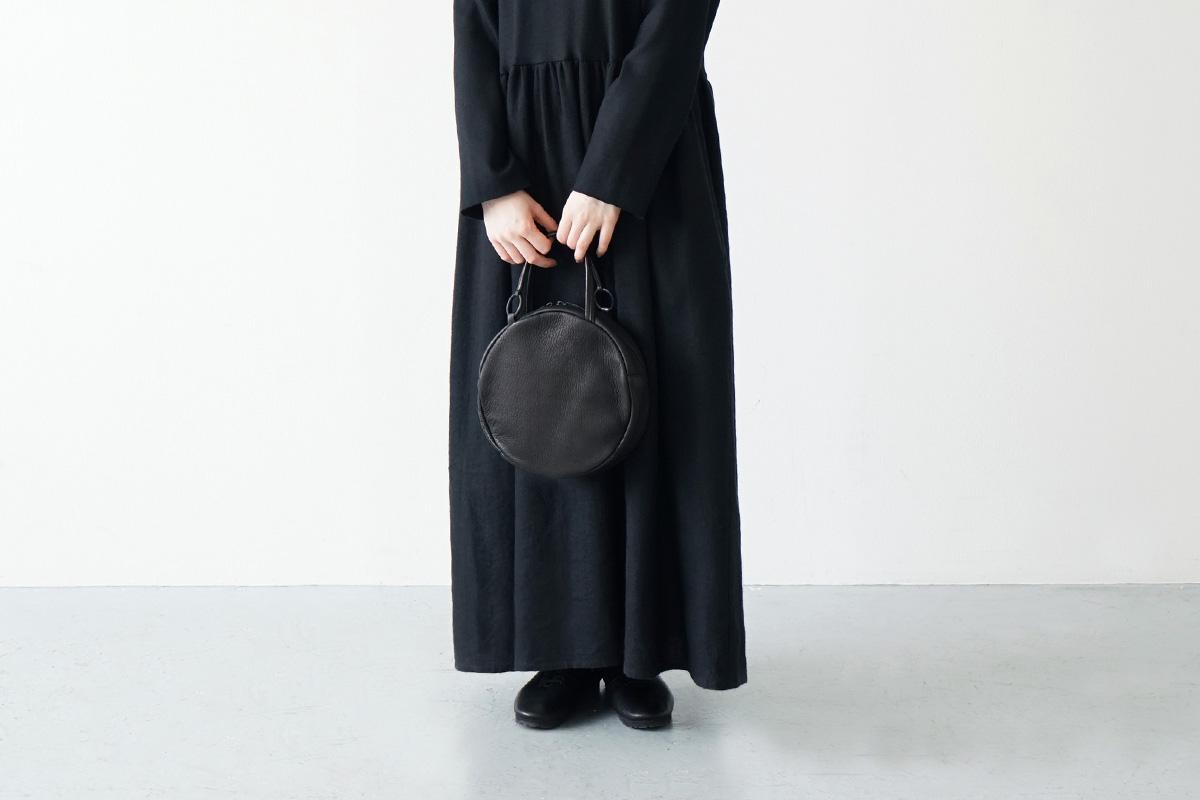 Mochi circle bag [ma-pro-07/black]