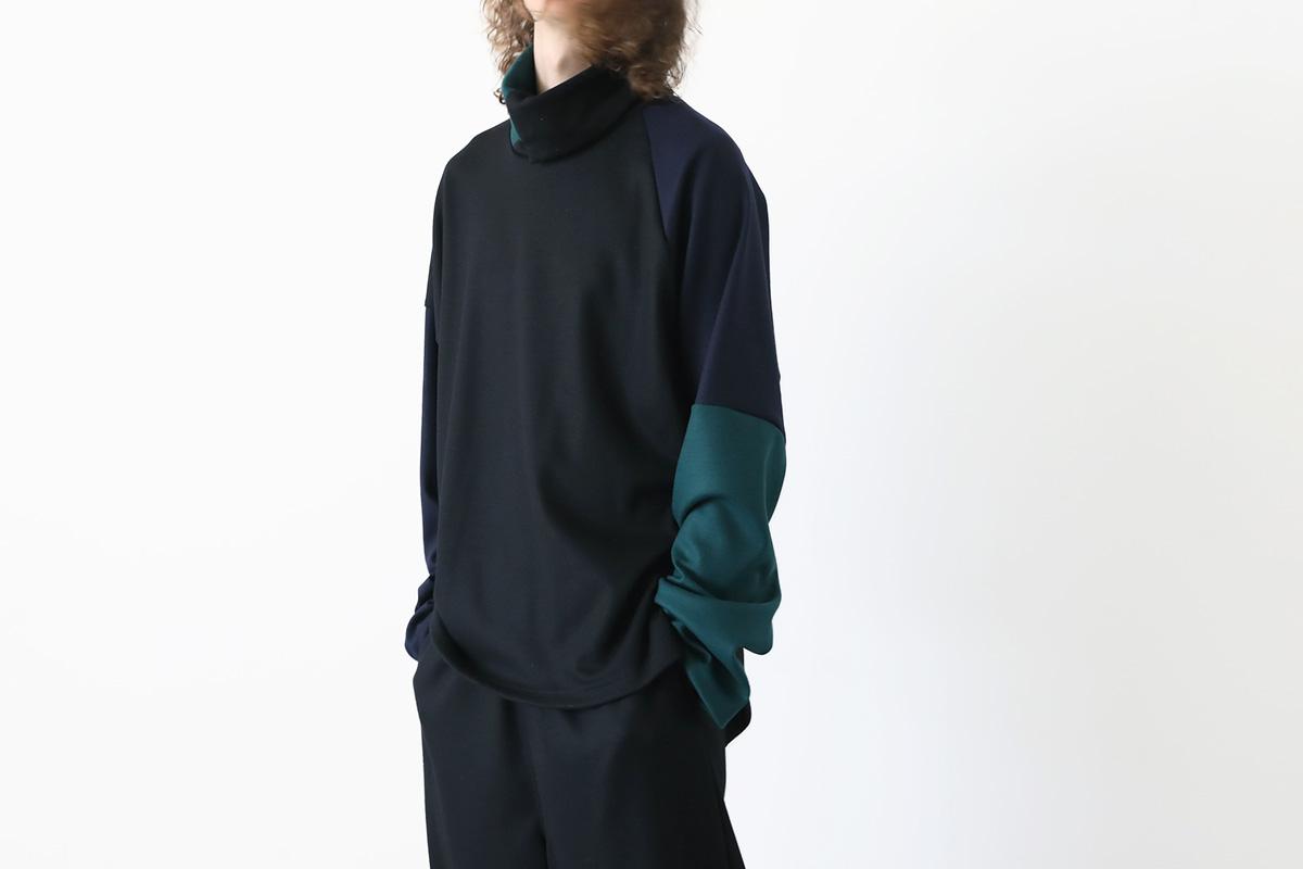 VU ヴウ highneck knit vu-a12-k04[BLACK MIX]
