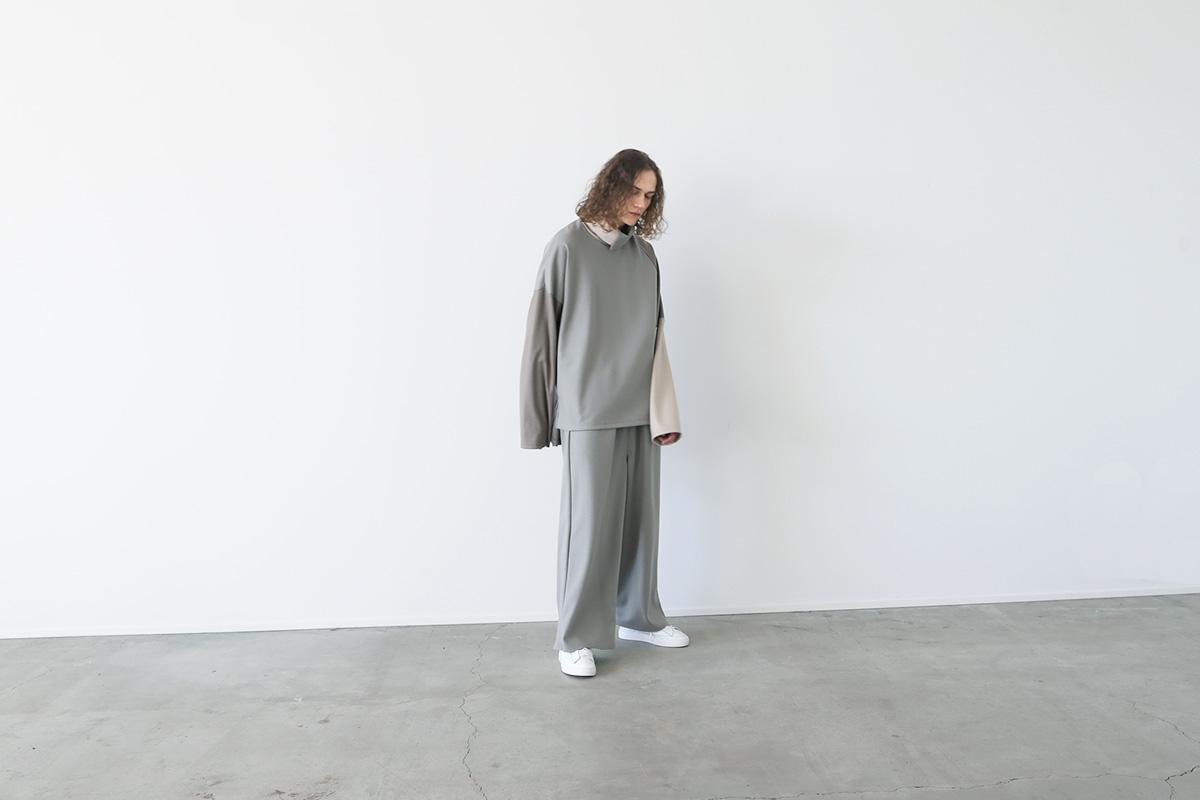 VU ヴウ highneck knit vu-a12-k04[GREIGE MIX]