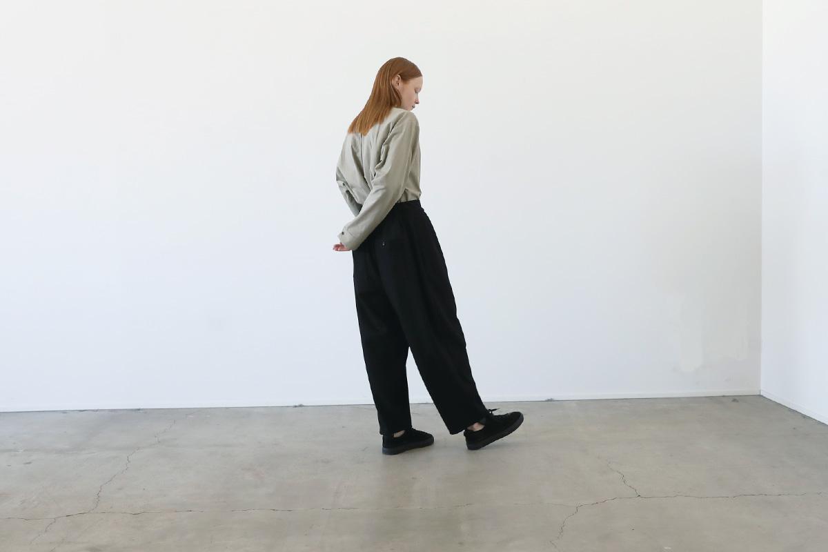 VU ヴウ wide pants vu-a12-p06[BLACK]