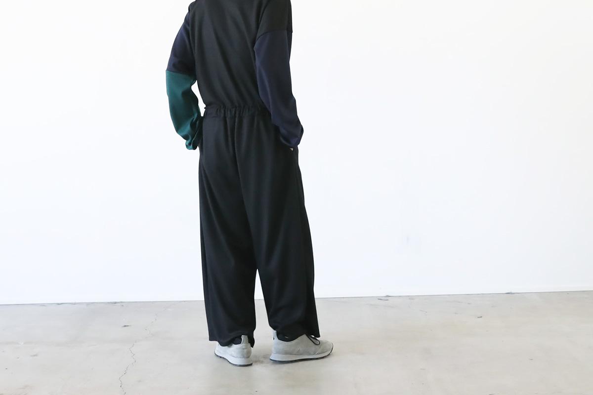 VU ヴウ wide easy pants vu-a12-p08[BLACK]