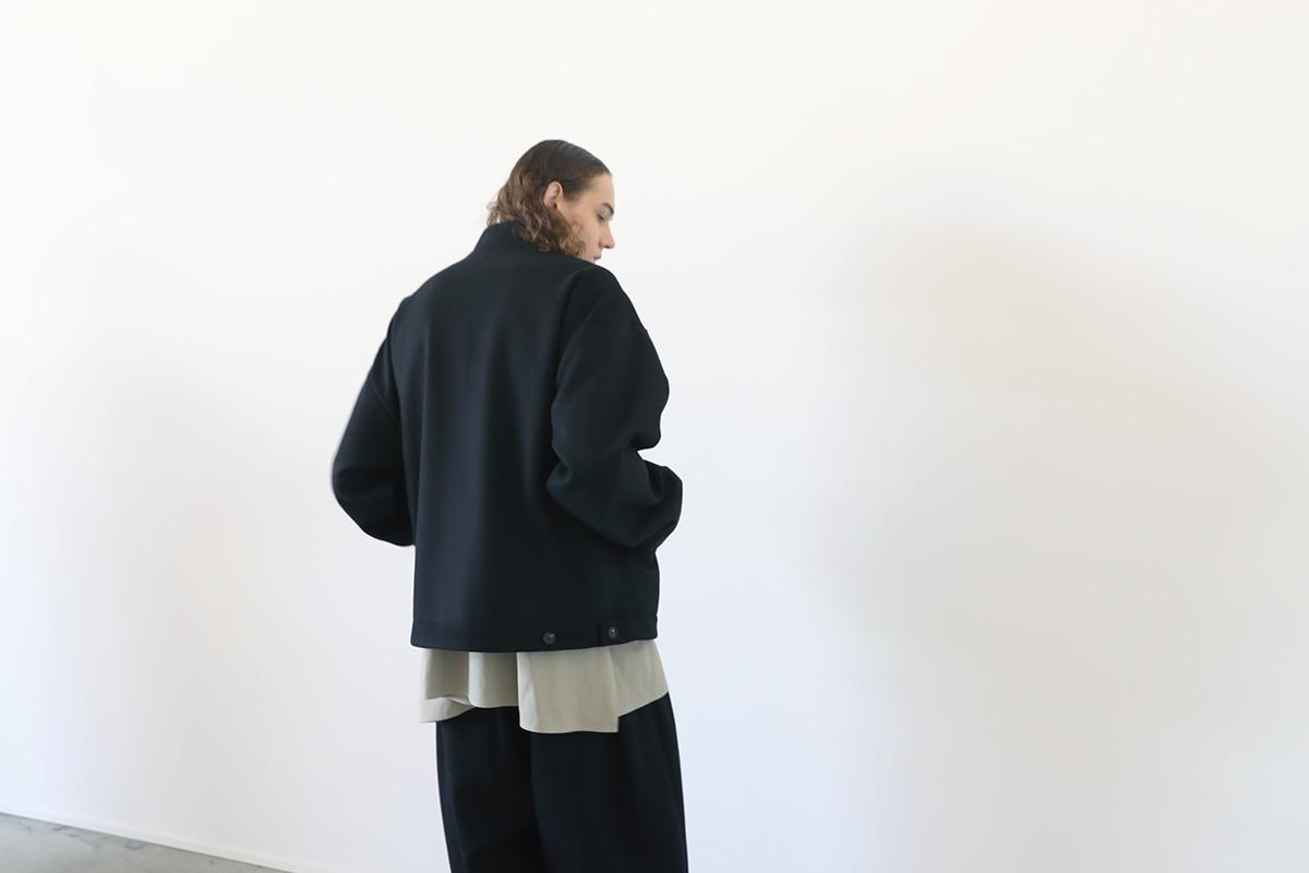 VU ヴウ stand collar bluson vu-a12-b12[BLACK]