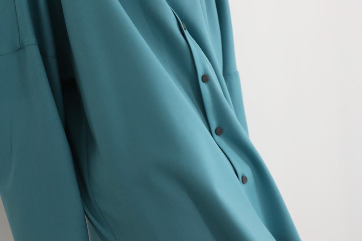 VUy ヴウワイ classic dolman shirt vuy-a12-s02[TURQUOISE]