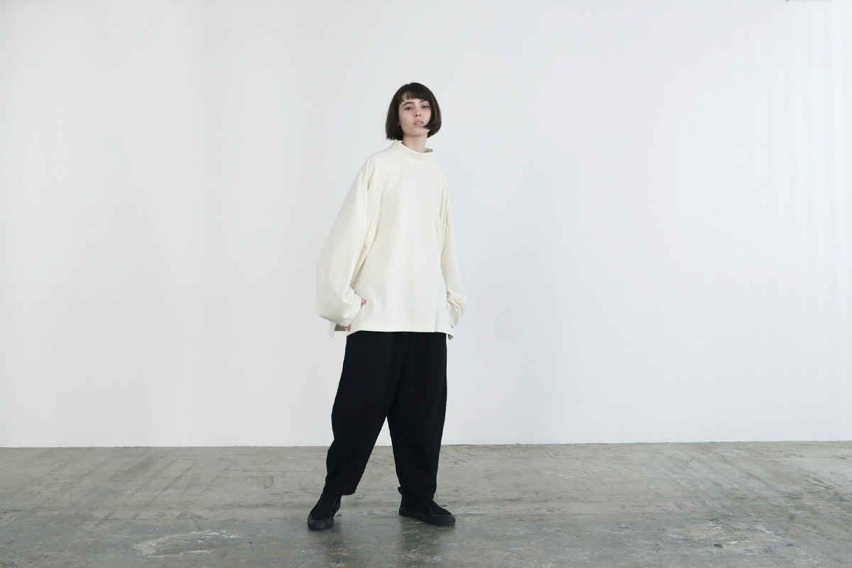 VUy ヴウワイ highneck knit vuy-a12-k01[WHITE]