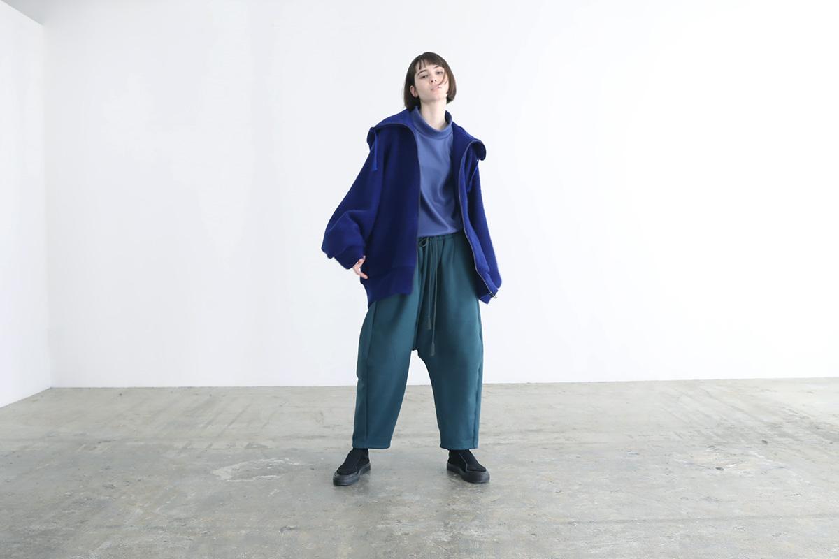 VUy ヴウワイ woolrich big hoody vuy-a12-k03[BLUE]