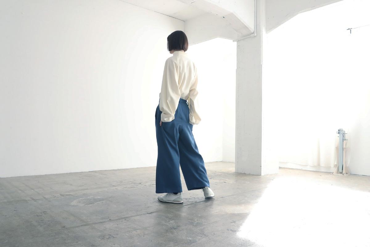 VUy ヴウワイ box slit psnts vuy-a12-p02[BLUE]