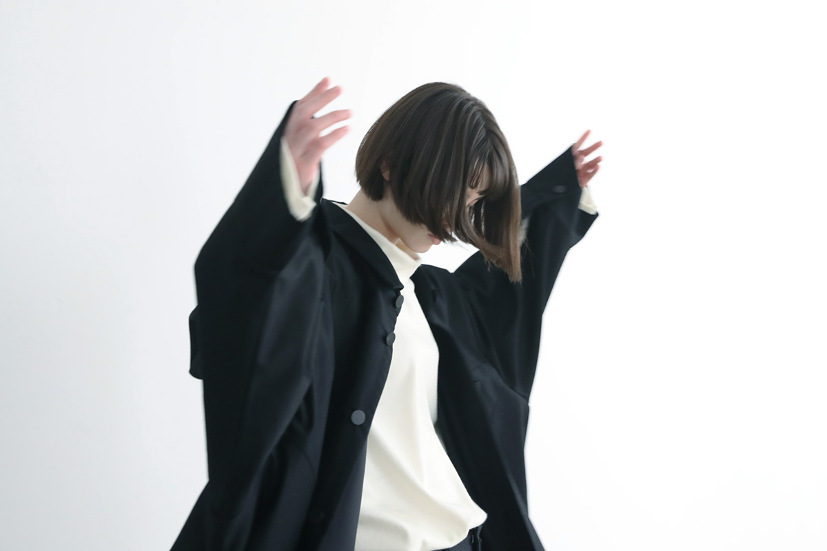 VUy ヴウワイ shirt coat vuy-a12-c02[BLACK]