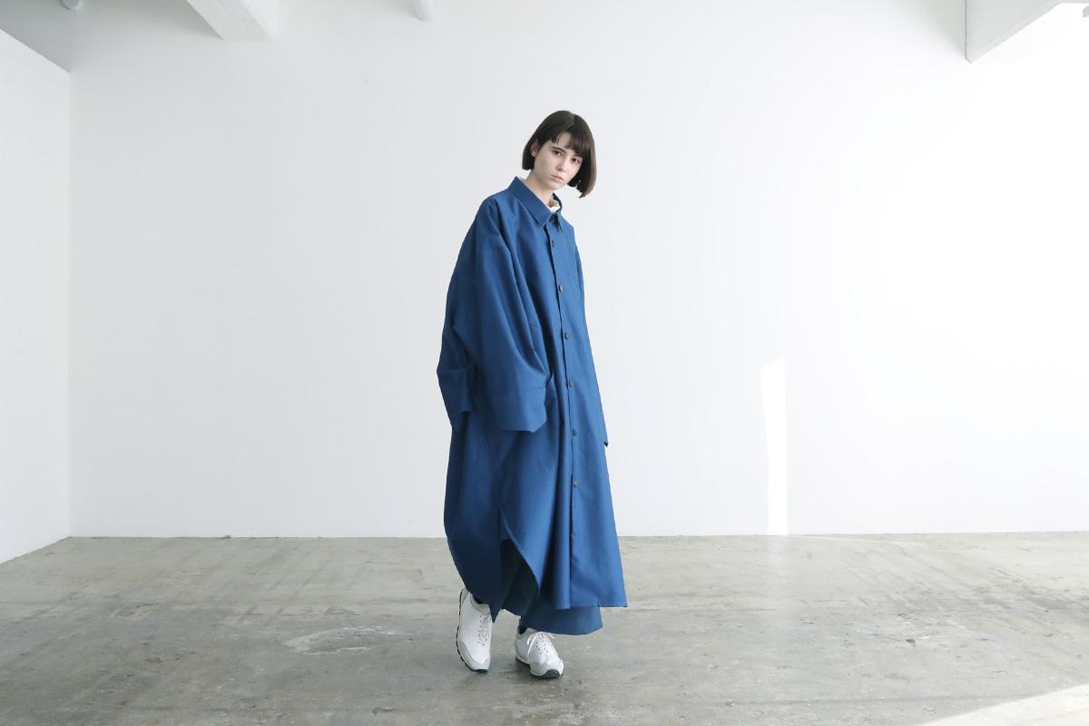 VUy ヴウワイ shirt coat vuy-a12-c02[BLUE]