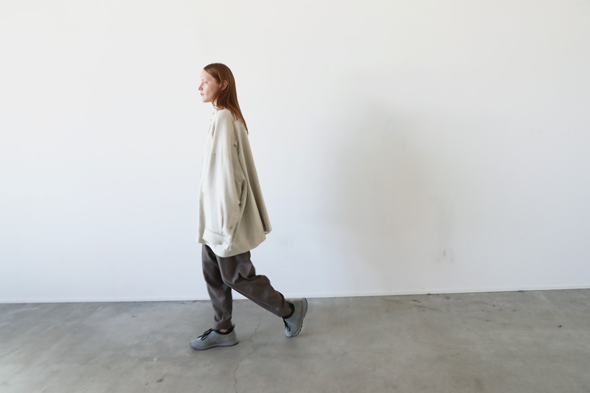 Edwina Hoerl  エドウィナホール HBB STAND-UP COLLAR BLOUSON[02/EH43HBB-07/<anissue of freedom>]