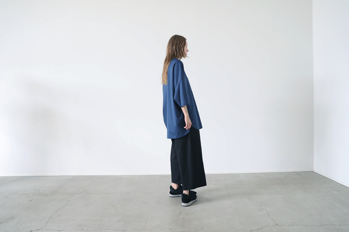 VU ヴウ basic t-shirt vu-s22-t07[BLUE]