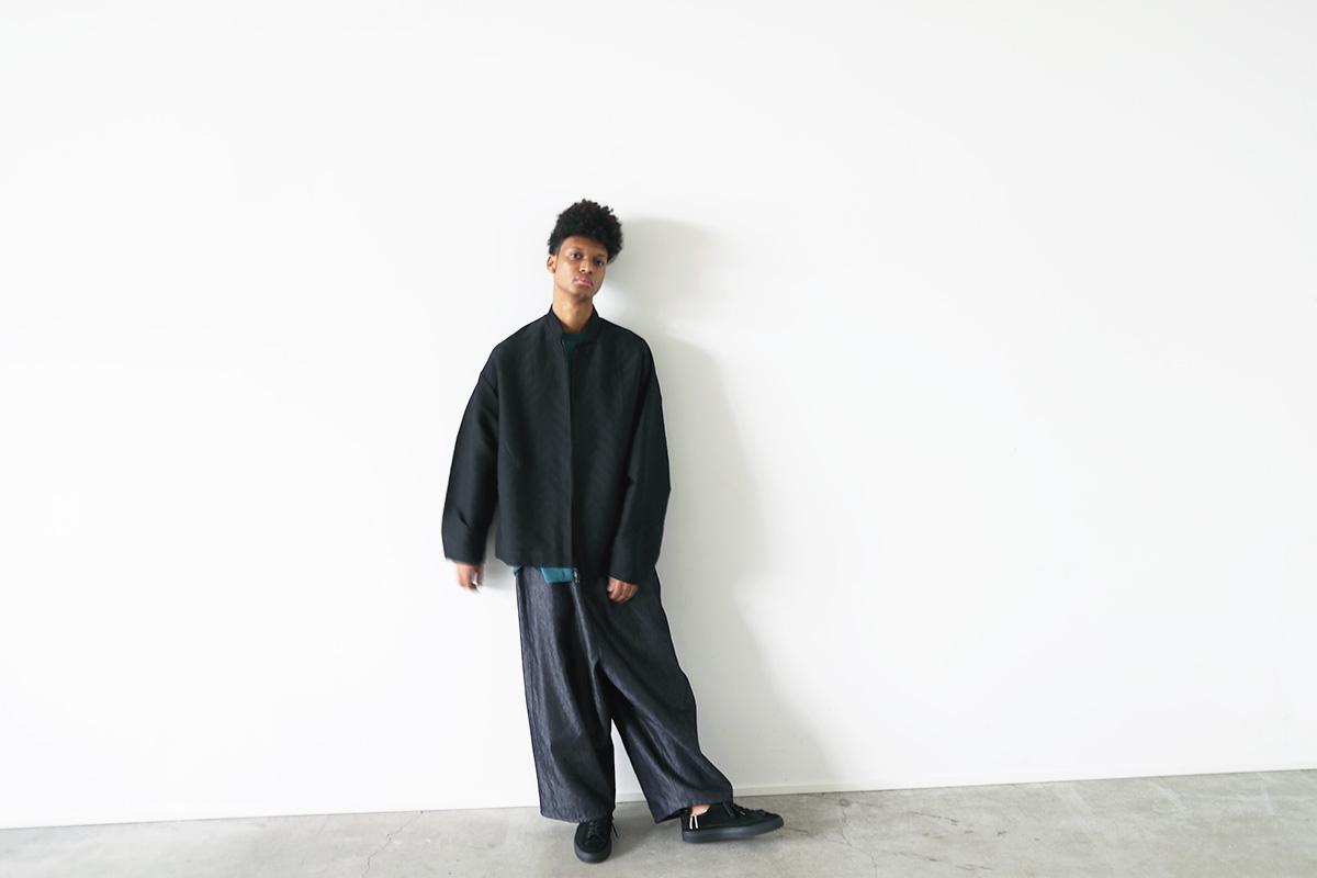 VU ヴウ stand collar bluson vu-s22-b16[BLACK]