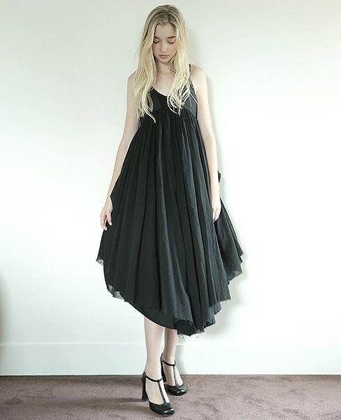 suzuki takayuki × Palm maison スズキタカユキ 【別注】BLACK DRESS