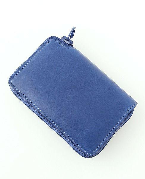 macromauro マクロマウロ Kip Wallet R [yellow ・blue]