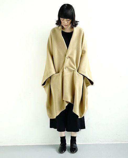 ohta Palm maison original 羽織り[beige]