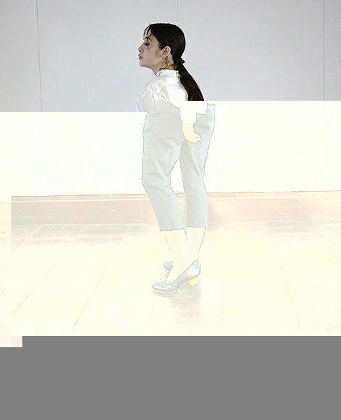 suzuki takayuki スズキタカユキ cropped pants [black]