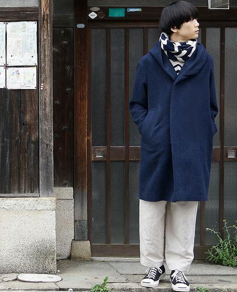 ohta navy coat[16aw-jk-04N]