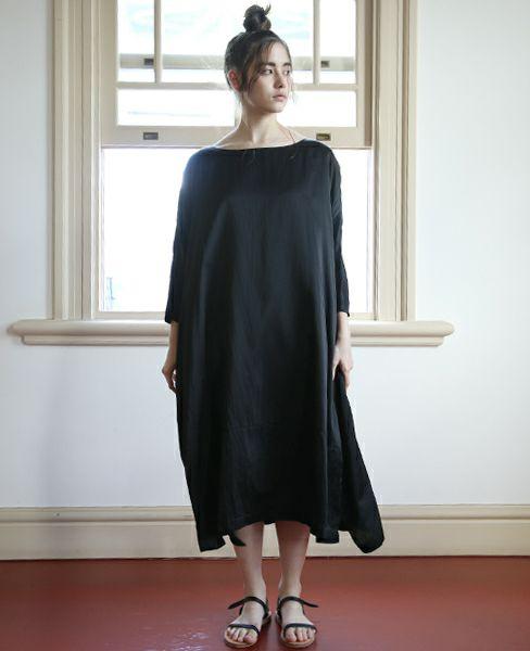 suzuki takayuki スズキタカユキ pull-over dress[S171-23]