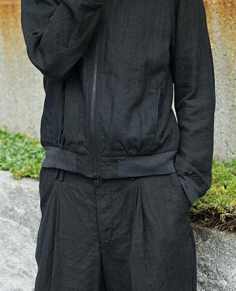 suzuki takayuki スズキタカユキ blouson[S172-03/black]