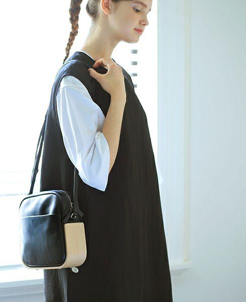 _Fot plywood bag _shoulder [0101bs・black]