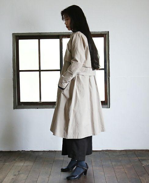 suzuki takayuki スズキタカユキ trench coat[A182-08]