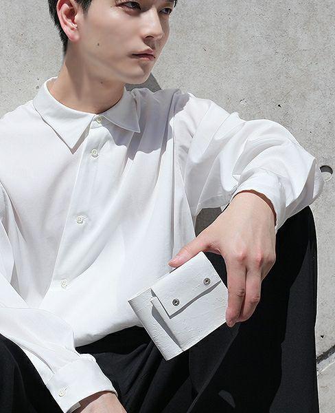 KAGARI YUSUKE 折り財布[mw-06-wh]