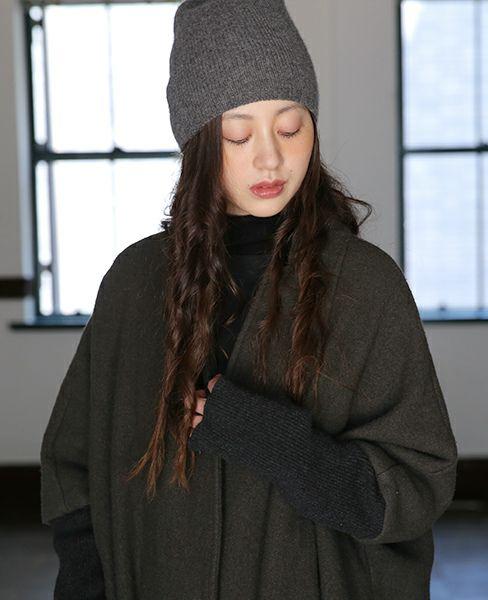 KristenseN DU NORD クリステンセンドゥノルド CAP [N-325/13 Dark Grey]