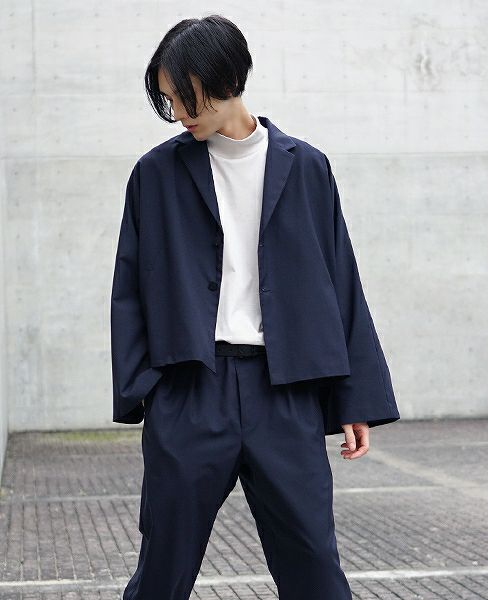 neverlamp dolman jacket nl-18s-J02[NAVY]