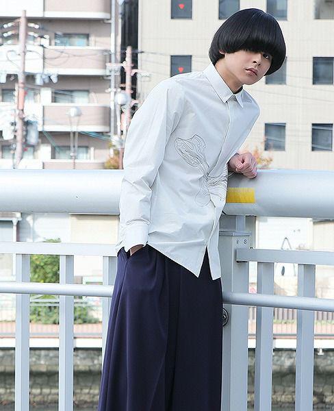 hatra  Flow Shirt[SH02-GREY]