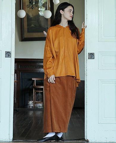 suzuki takayuki スズキタカユキ wide legged pants Ⅲ[A192-12/orange]
