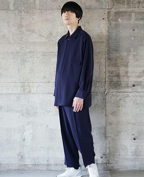 hatra  Blue Flow Jacket[OU06-NAVY]