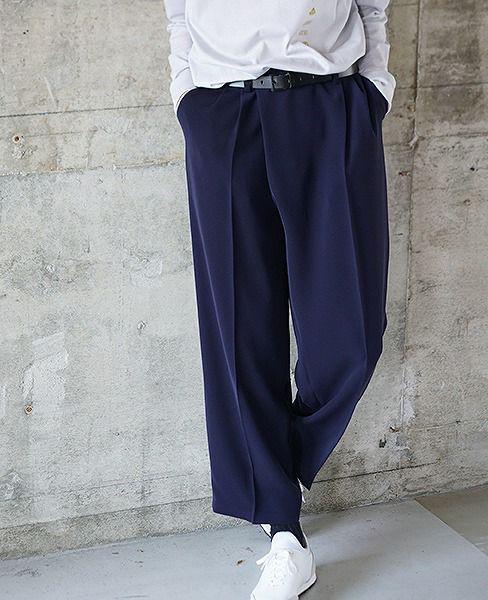 hatra  Flow Pants[BT03-NAVY]