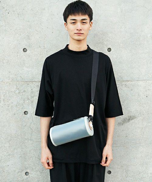 macromauro マクロマウロ cylinder bag paint large PVC[black]
