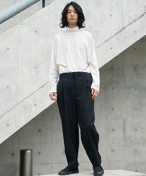 neverlamp pants nl-19AW-P03[BLACK]