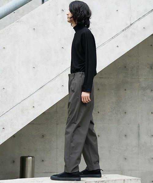 neverlamp pants nl-19AW-P03[KHAKI]