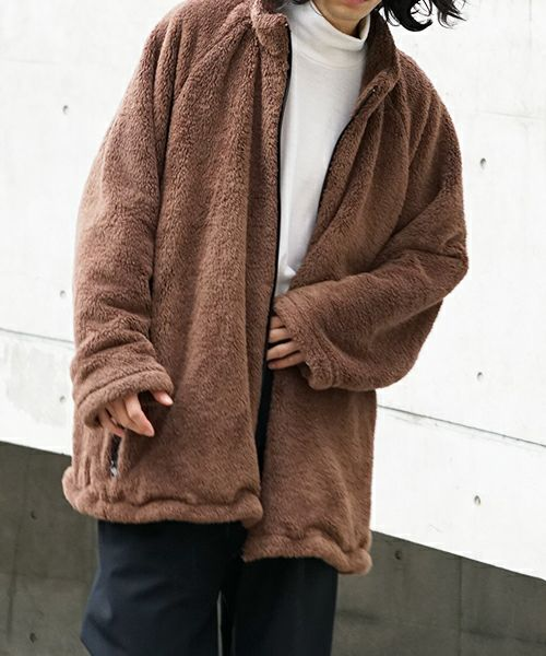 neverlamp blouson nl-19AW-B01[BROWN]
