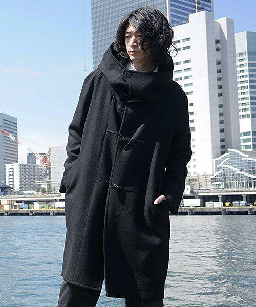 hatra  coat Toggle Calm Coat[OU06-Black]