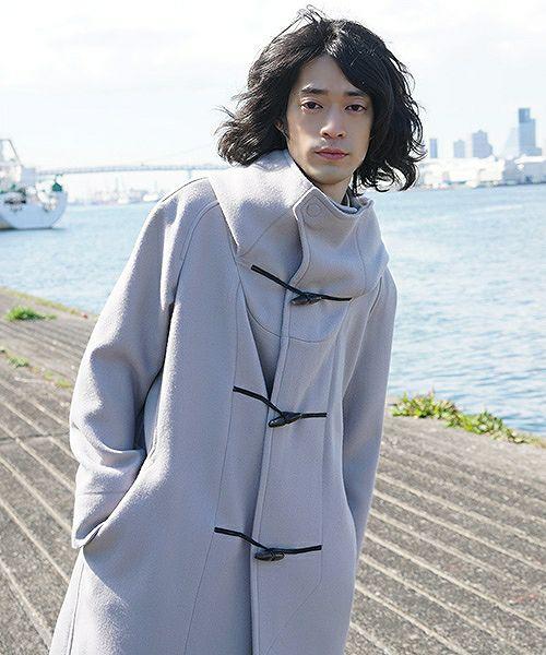 hatra  coat Toggle Calm Coat[OU06-Grey]