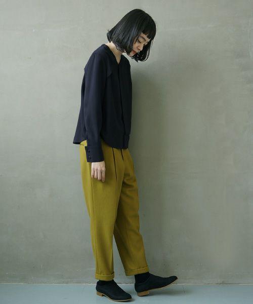 ohta navy blouse[st-31N]