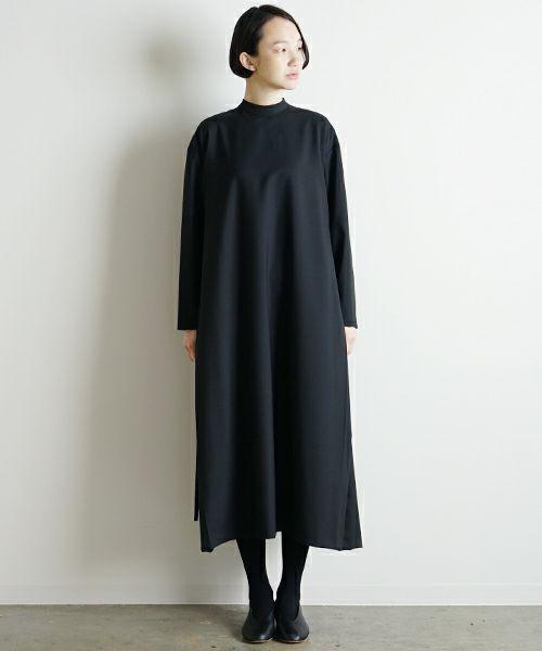 Mochi モチ high neck dress [ma9-op-02]