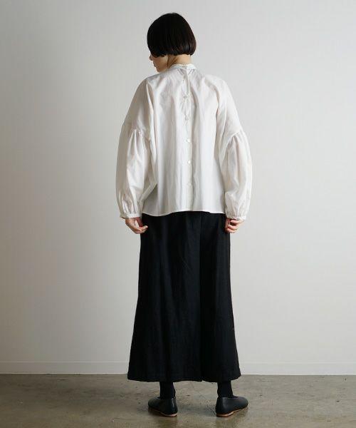 Mochi モチ puff sleeve blouse [ma9-bl-01]