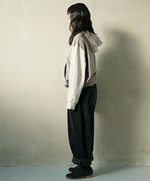 Edwina Hoerl hoody[19D/E/F/EH39J-04/「死ね、そして生まれよ」grey]