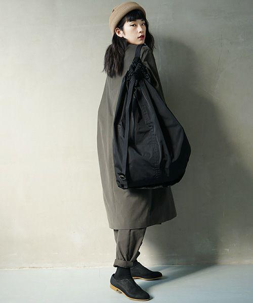 Edwina Hoerl bag[BLACK/KHAKI] <br>別注・Palm maiosn original