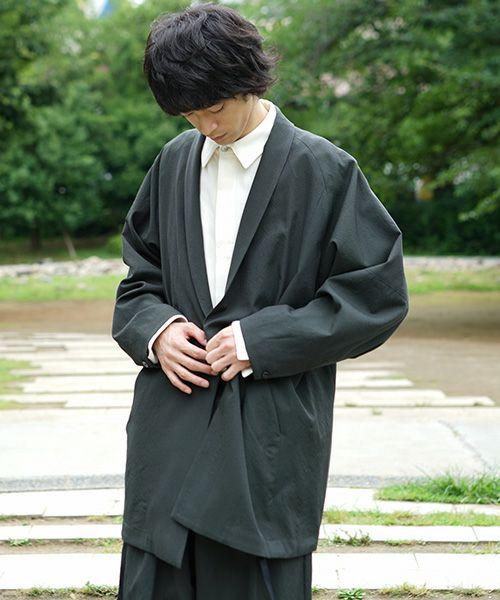 YANTOR Wash Wool Fall Jacket[Y194JK05/GREEN]